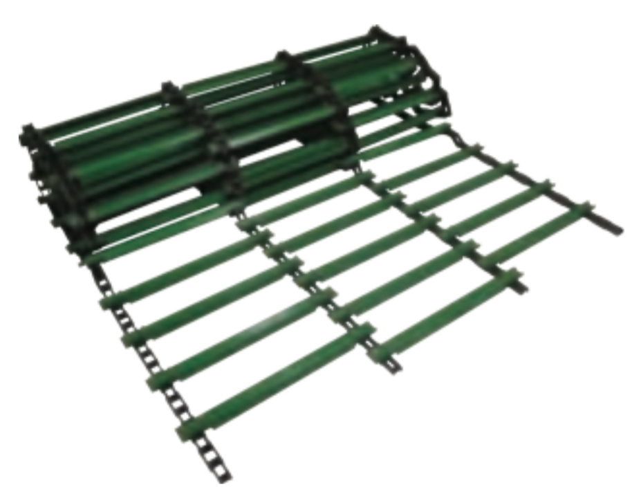 John Deere Combine Harvester Feeder House Chain with Slat AH207778